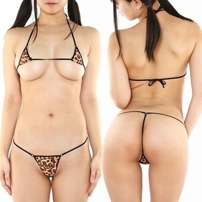 chu−U−chu Lingerie Collection SUPER MICRO 超マイクロビキニ(M−019) レオパード